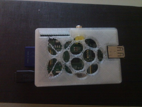 Raspberry Pi top all